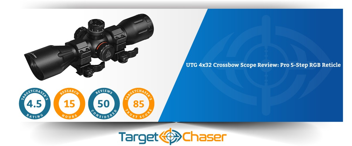 Utg-4x32-Pro-5-Step-RGB-Reticle-crossbow-scop