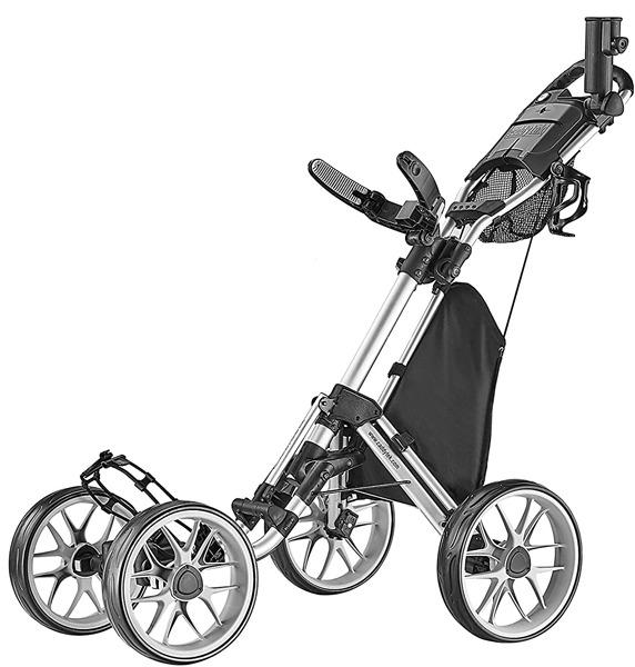 CaddyTek-4-Wheel-Golf-Push-Cart
