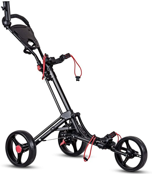 Tangkula-3-Wheel-Golf-Push-Cart