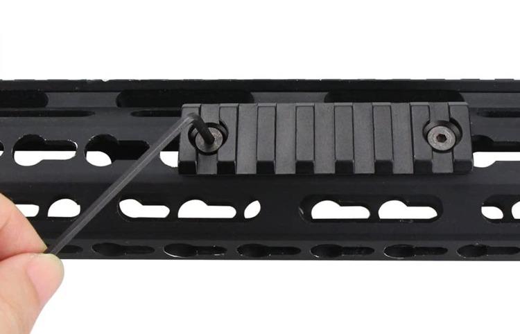 best-keymod-picatinny-rails